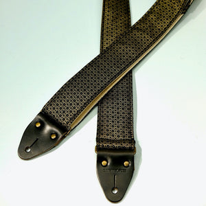 Floral Guitar Strap in Amman Valley Product detail photo 6