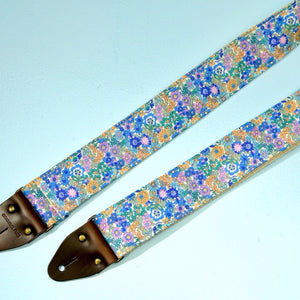 Floral Guitar Strap in Carnaby Street Product detail photo 4