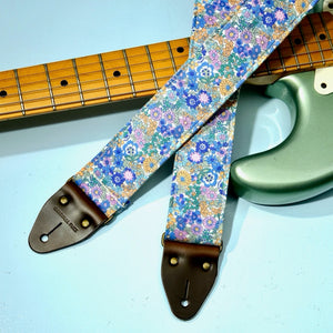 Floral Guitar Strap in Carnaby Street Product detail photo 1