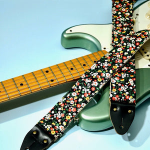 Floral Guitar Strap in Muswell Hill Product detail photo 6