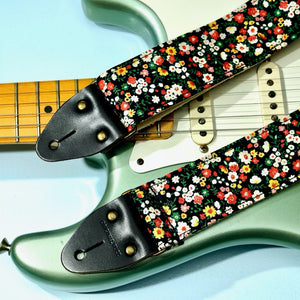 Floral Guitar Strap in Muswell Hill Product detail photo 2