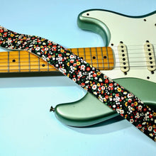 Floral Guitar Strap in Muswell Hill