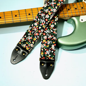 Floral Guitar Strap in Muswell Hill Product detail photo 0
