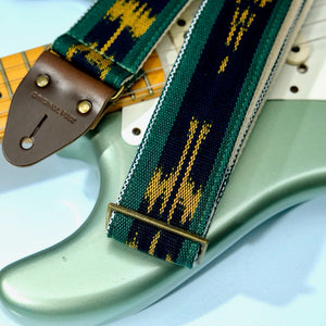 Guatemalan Guitar Strap in Sanarate Product detail photo 2