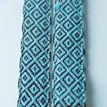 Handwoven Guitar Strap in CHS