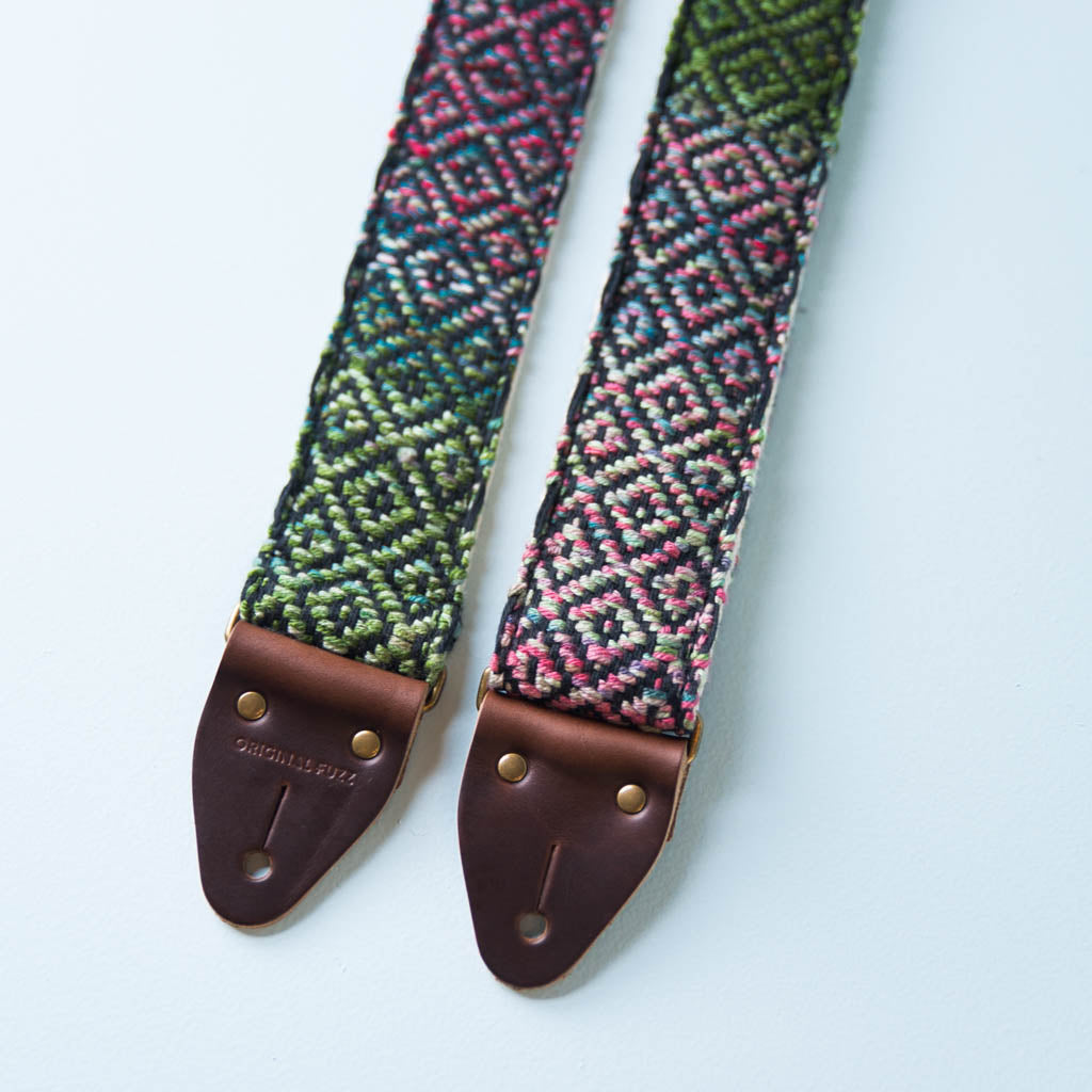 Handwoven Guitar Strap in ORD