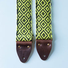 Handwoven Guitar Strap in SEA