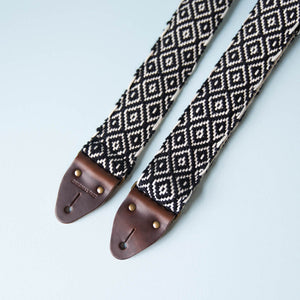 Handwoven Guitar Strap in SFO Product detail photo 1