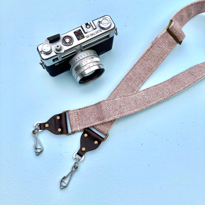 Skinny Indian Camera Strap in Dumas