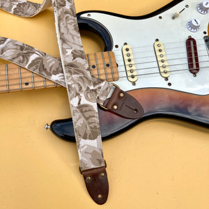 Reclaimed Skinny Guitar Strap in Driggs Ave Product detail photo 0