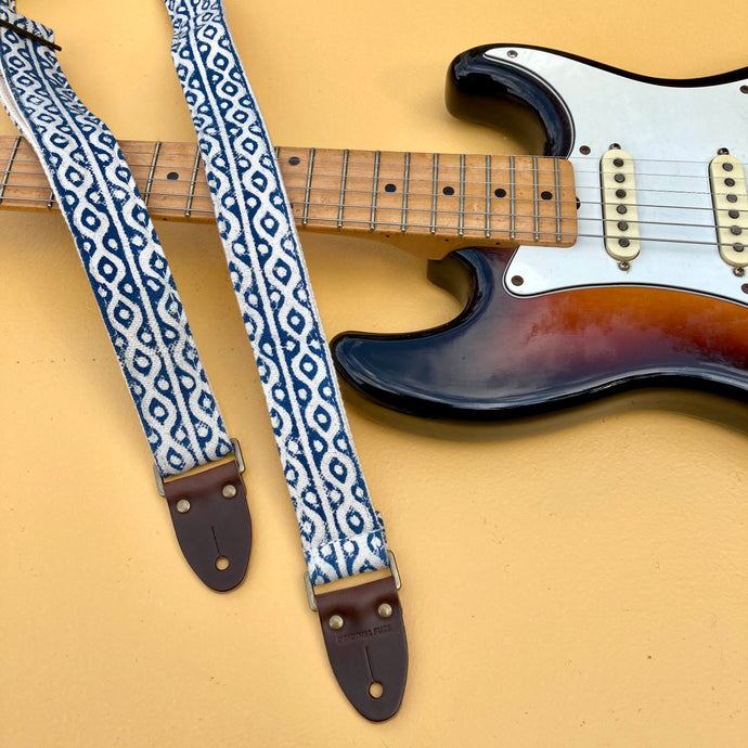 Indian Skinny Guitar Strap in Griff
