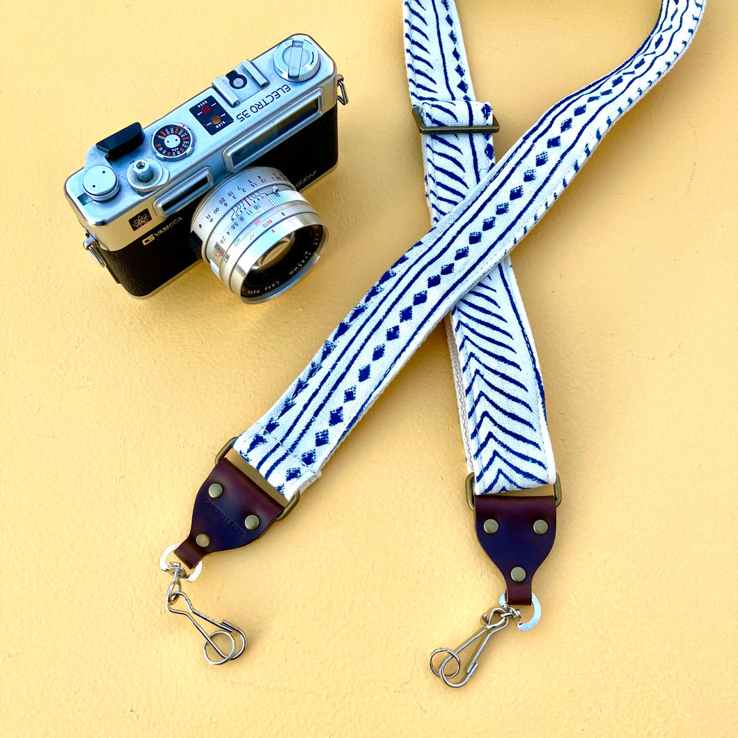 Indian Skinny Camera Strap in Martin Courtney