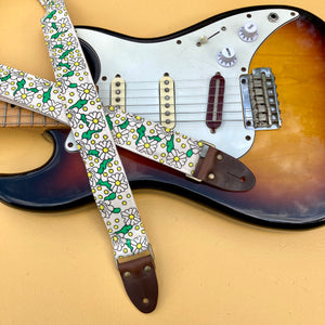 Silkscreen Skinny Guitar Strap in Boytoy Product detail photo 0
