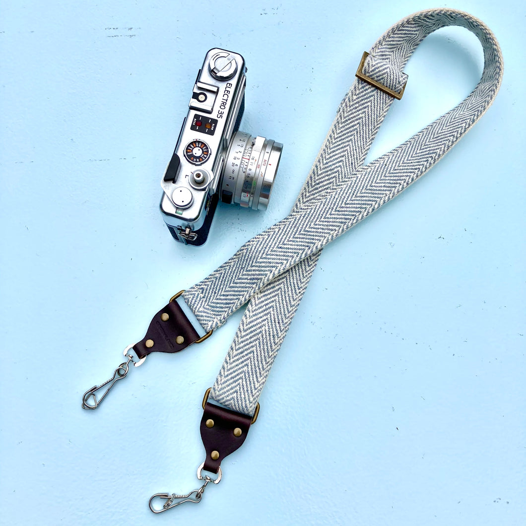 Skinny India Camera Strap in Rishikesh