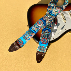 Paisley Guitar Strap in Hyde Park