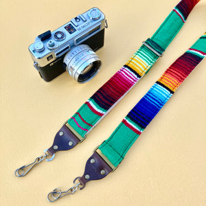 Skinny Serape Camera Strap in Avocado Product detail photo 0