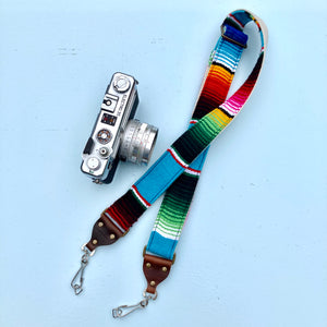 Skinny Serape Camera Strap in Desmachine Product detail photo 0