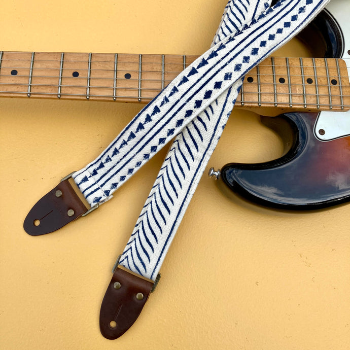 Indian Skinny Guitar Strap in Martin Courtney