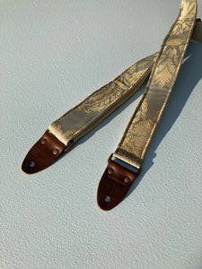 Reclaimed Skinny Guitar Strap in Simons Street Product detail photo 1