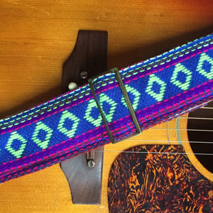 Original Fuzz brightly woven camera strap from India