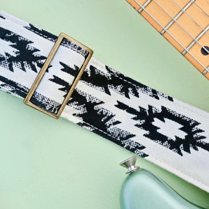 Indian Guitar Strap in Darjeeling Product detail photo 2