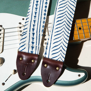 Indian Guitar Strap in Martin Courtney Product detail photo 2
