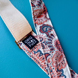 Paisley Guitar Strap in Lucille Product detail photo 2