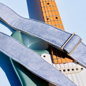 Indian Guitar Strap in Mandavi Product detail photo 1
