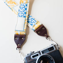 vintage camera strap made with 70s reclaimed polyester 1