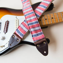 Modern Vintage Guitar Strap in East Bay Street