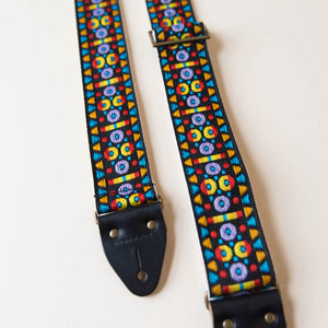 Vintage Guitar Strap in St. Phillip Street Product detail photo 4