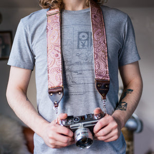 Nashville Series Camera Strap in Edith Product detail photo 3