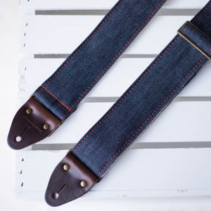 Nashville Series Guitar Strap in Blue Denim Product detail photo 3