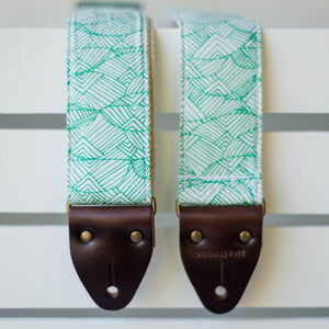 Nashville Series Guitar Strap in Radnor Lake Product detail photo 2