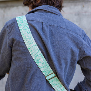 Nashville Series Guitar Strap in Radnor Lake Product detail photo 4