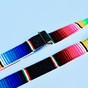 Serape Guitar Strap in Carbón Product detail photo 7