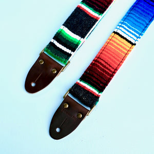 Serape Guitar Strap in Carbón Product detail photo 5