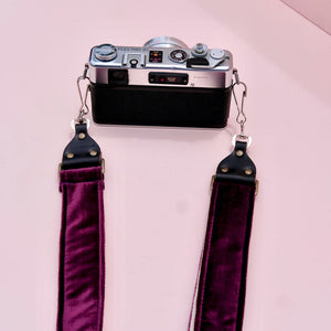 Velvet Camera Strap in Bushwick Product detail photo 5