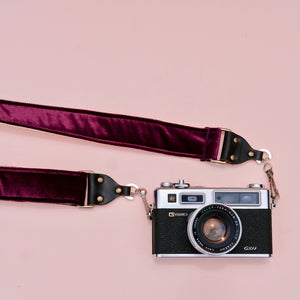 Velvet Camera Strap in Bushwick Product detail photo 4
