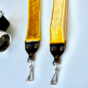 Velvet Camera Strap in Williamsburg Product detail photo 3