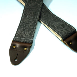 Paisley Guitar Strap in Bascobel Product detail photo 7