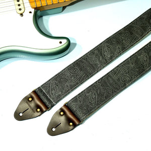 Paisley Guitar Strap in Bascobel Product detail photo 2