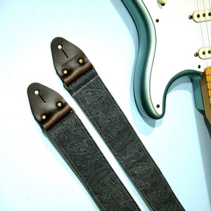 Paisley Guitar Strap in Bascobel Product detail photo 5