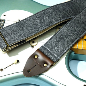 Paisley Guitar Strap in Bascobel Product detail photo 0