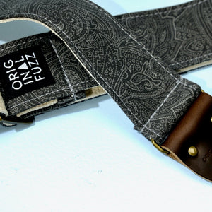 Paisley Guitar Strap in Bascobel Product detail photo 3