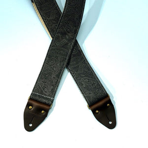 Paisley Guitar Strap in Bascobel Product detail photo 4