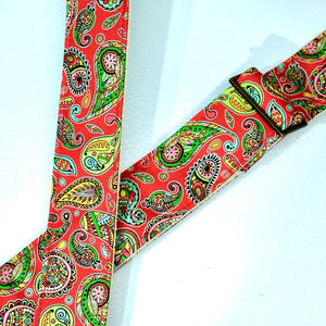 Paisley Guitar Strap in Chicamauga Product detail photo 2
