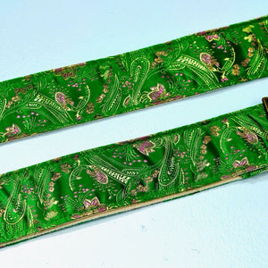 Paisley Guitar Strap in Eugenia Product detail photo 4