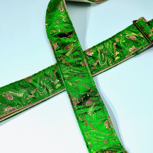 Paisley Guitar Strap in Eugenia Product detail photo 1