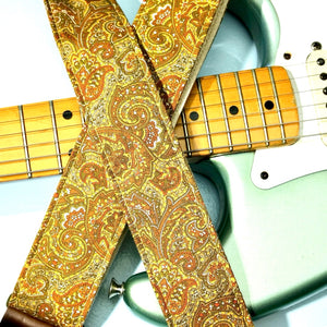 Paisley Guitar Strap in Kirkland Product detail photo 2